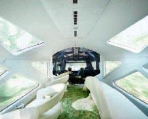 Японский междугородний экскурсионный поезд